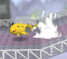 Ataque rápido de Pikachu SSB