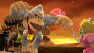Créditos Modo Leyendas de la lucha Donkey Kong SSB4 (Wii U)