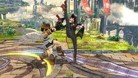 Lanzamiento Hacia Abajo Bayonetta SSB Wii U