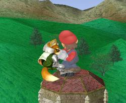 Lanzamiento delantero de Mario (1) SSBM
