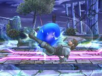Lanzamiento inferior Sonic SSBB