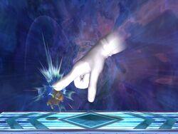 Master Hand Dedo (2) SSBB