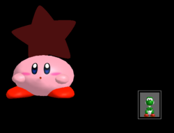 Pose de victoria Kirby X (4) SSBM