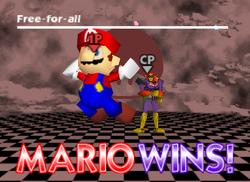 Pose de victoria de Mario (1) SSB