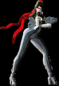 Art oficial de Bayonetta en Bayonetta