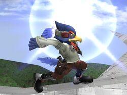 Ataque Smash Lateral Falco SSBB (1)