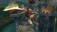 Ataque aéreo superior de Ike (3) SSB4 (Wii U)