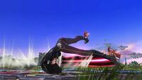 Ataque de Recuperación Boca Abajo Bayonetta SSB Wii U