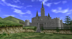 Castillo de Hyrule Ocarina of Time