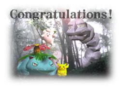 Créditos 1P Game Pikachu SSB