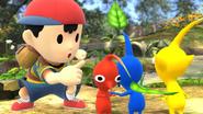 Créditos Modo Senda del guerrero Ness SSB4 (Wii U)