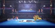 Mario y Bowser corriendo Trailer Wii U SSB4