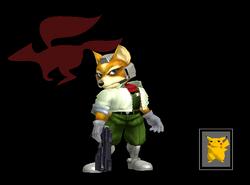 Pose de victoria Fox Y (3) SSBM