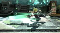 Ataque Smash hacia abajo Cloud (2) SSB4 (Wii U)