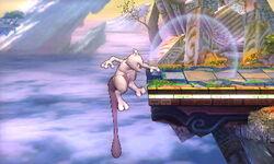 Ataque de recuperación del borde Mewtwo (1) SSB4 (3DS)