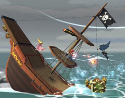 Barco Pirata (5) SSBB