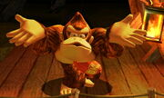Burla inferior Donkey Kong SSB4 (3DS)