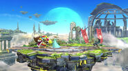 Campo de batalla (Versión Omega) SSB4 (Wii U)