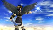 Créditos Modo Senda del guerrero Pit Sombrío SSB4 (Wii U)