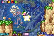 Estrella remolque en Kirby & the Amazing Mirror