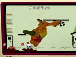K.O. de pantalla Zona Extraplana SSBM