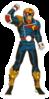 Pegatina de Captain Falcon