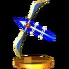 Trofeo de Arco de Palutena SSB4 (3DS)