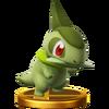 Trofeo de Axew SSB4 (Wii U)