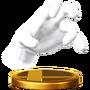 Trofeo de Crazy Hand SSB4 (Wii U)