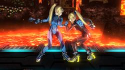 Agarre normal de Samus Zero (2) SSB4 (Wii U)