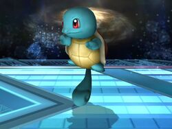 Burla lateral Squirtle SSBB