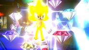Créditos Modo Senda del guerrero Sonic SSB4 (Wii U)