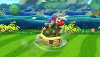 Lanzamiento hacia arriba de Bowser (2) SSB4 (Wii U)