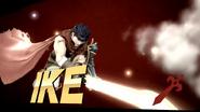 Pose de victoria de Ike (1-3) SSB4 (Wii U)