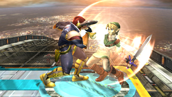 Agarre normal Captain Falcon SSBB (2)