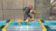 Agarre normal de Captain Falcon (1) SSB4 (Wii U)