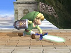 Ataque normal Toon Link SSBB (1)