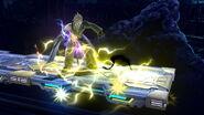 Efecto de Ramuh en Midgar (4) SSB4 (Wii U)
