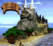 Isla de Kong en Donkey Kong Country