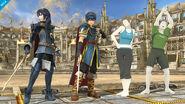 Marth, Lucina y los Entrenadores de Wii Fit SSB4 (Wii U)