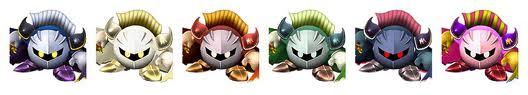 Paleta de Colores Meta Knight SSBB