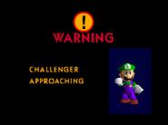Pantalla de desbloqueo Luigi SSB