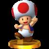 Trofeo Toad SSB4 (3DS)