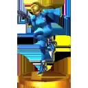 Trofeo de Samus Zero SSB4 (3DS)