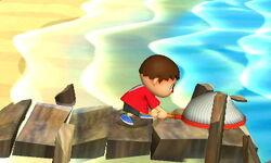Agarre normal Aldeano SSB4 (3DS)