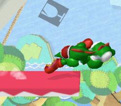 Ataque rápido de Yoshi SSBM