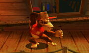 Burla lateral Diddy Kong SSB4 (3DS)