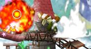 Explosión de un Bob-omb SSB