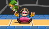 Lanzamiento hacia abajo de Wario (2) SSB4 (3DS)