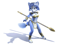 Pegatina Krystal (Star Fox Adventures) SSBB